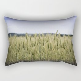 Grain Almost Ready For Harvest Rectangular Pillow