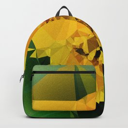 Yellow Meadow Flower Backpack