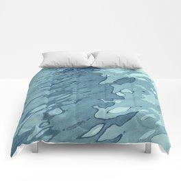 Aqua Shoreline Comforters