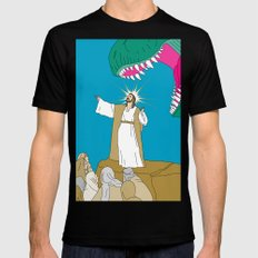 Jesus, Etc. Mens Fitted Tee Black MEDIUM