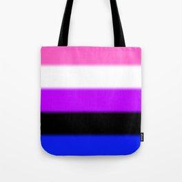 Genderfluid Pride Flag Tote Bag