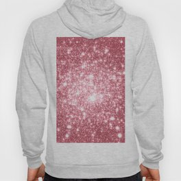 Pink Sparkle Stars Hoody