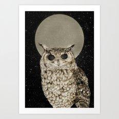 Sleepless Nights Art Print
