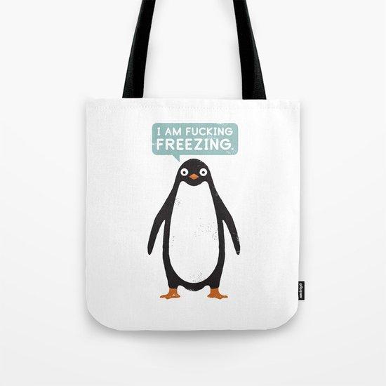 Talking Penguin Tote Bag