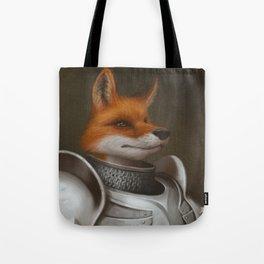 The Knight Fox Tote Bag