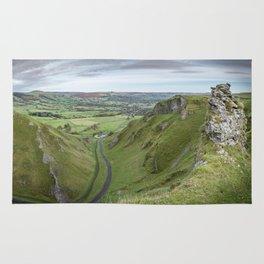 Winnats Pass, Peak District, Derbyshire Rug