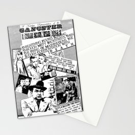 """Gangster Gerne"" - by Fanitsa Petrou Stationery Cards"