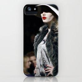 Lady Lips iPhone Case