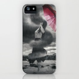 Storm Clouds Gather iPhone Case