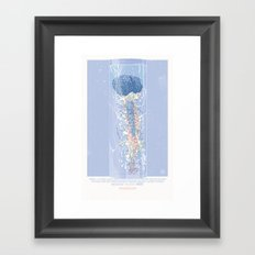 Robocop Brain — Movie Poster Framed Art Print