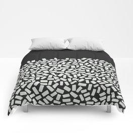 Half Empty or Half Full? Comforters