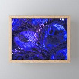 Blue Owly DPG170707a RB Framed Mini Art Print