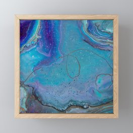 Swirls - 2 Framed Mini Art Print