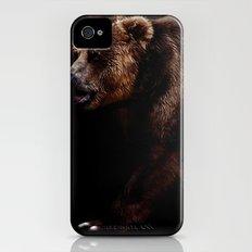 Big Bear iPhone (4, 4s) Slim Case