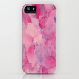 Beth Rose Watercolor iPhone Case
