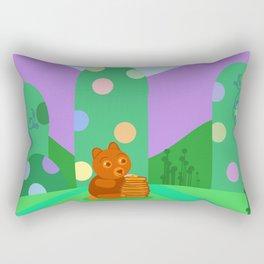 Honey Bear Rectangular Pillow