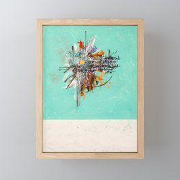 The Last Battle of the Pacific Framed Mini Art Print