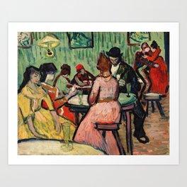 The Brothel by Vincent Van Gogh Art Print