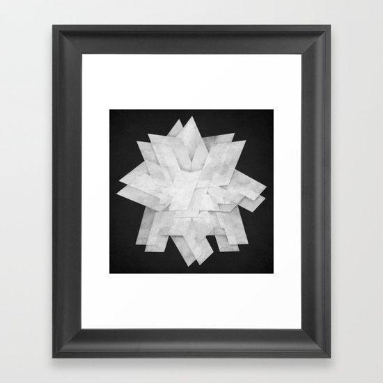 Folded Framed Art Print