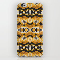 Montana Stripe - Gold iPhone & iPod Skin