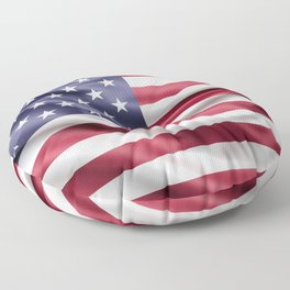 Flag of United States of America Floor Pillow