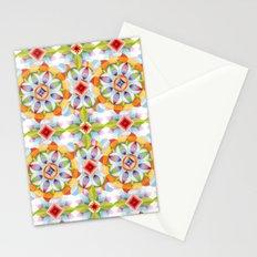 Flower Garden Kaleidoscope Stationery Cards