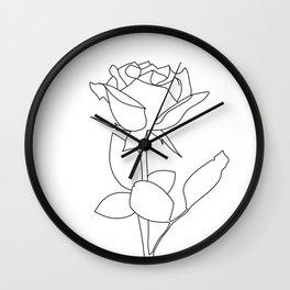 rosé Wall Clock