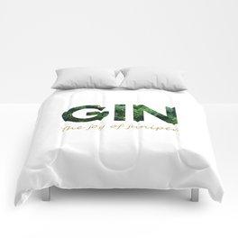Gin - The joy of juniper Comforters