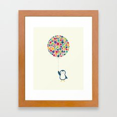 Float In The Air Framed Art Print