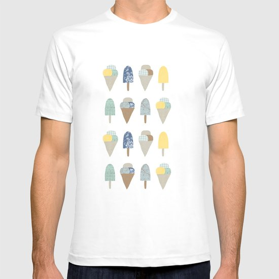 ice cream pattern  T-shirt