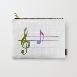 Musical Note A Carry-All Pouch