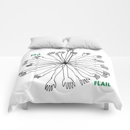 Fail or Flail Comforters