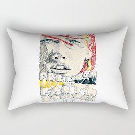 Leeloo Dallas portrait Rectangular Pillow