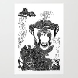 Alter Ego Art Print