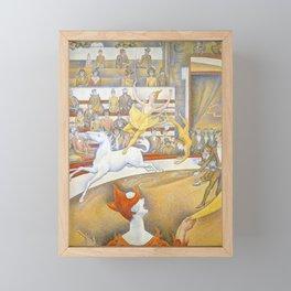 "Georges Seurat ""The Circus"" Framed Mini Art Print"