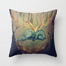 Dear Deer 1 Throw Pillow