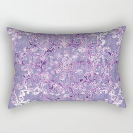 A Taste of Lilac Wine Rectangular Pillow