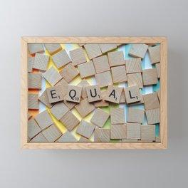 Equal (LGBTQ) Framed Mini Art Print