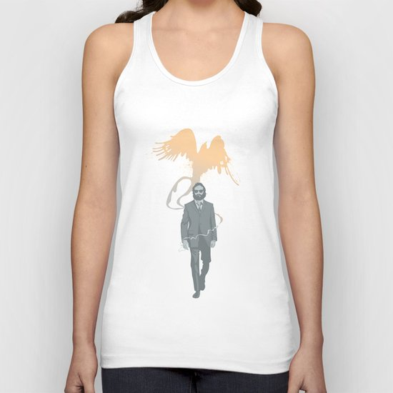 Out of the ashes arose a Phoenix Unisex Tank Top