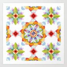 Beaux Arts Mandala Art Print