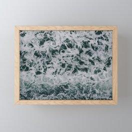 Sea water Framed Mini Art Print