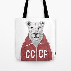 Soviet lion Tote Bag