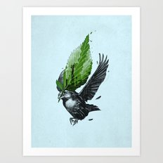 The Messenger Art Print