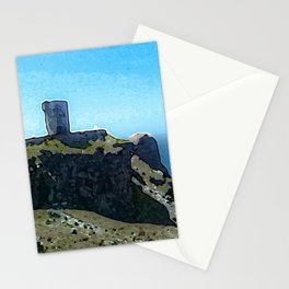 Moher Tower at Hag's Head Stationery Cards