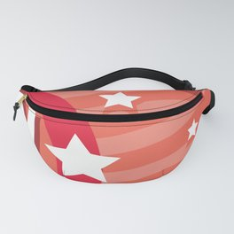 Happy birthday Funny monsters card Fanny Pack
