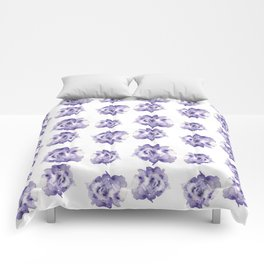 Purple Roses Comforters