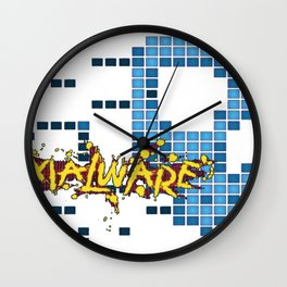 Malware Wall Clock