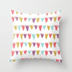 Butterfly Garden - Bunting Throw Pillow