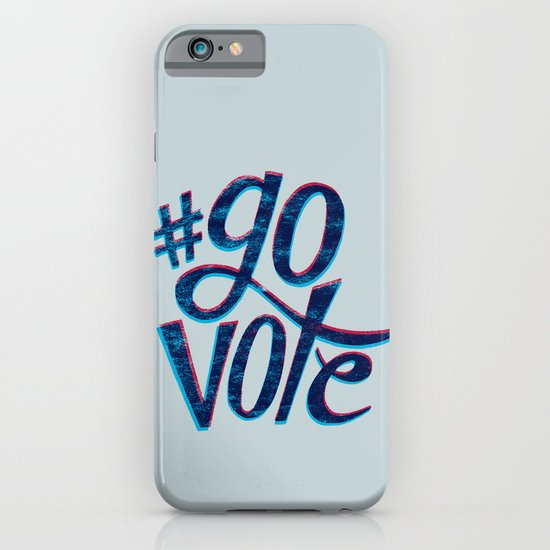 #GoVote iPhone & iPod Case