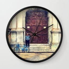 Trapani art 25 Wall Clock